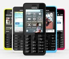 NOKIA 301 DUAL-SIM TASTEN-HANDY MOBILE PHONE QUAD-BAND BLUETOOTH KAMERA WIE NEU