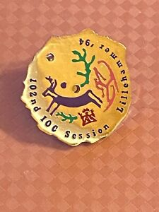 LILLEHAMMER 1994 - IOC SESSION OLYMPIC PIN