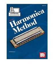 Mel Bay 93737M Deluxe Harmonica Method (Book+Online Audio/Video) by Phil Duncan