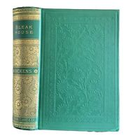 Bleak House Charles Dickens Ornate Classic Antique Victorian 1885 Illustrated