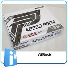 Placa base ATX Ryzen B350 ASRock AB350 PRO4 Socket AM4 con Accesorios
