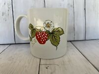 Vintage Otagiri Strawberry Blossom Vine   Made in JAPAN  Coffee Cup Mug