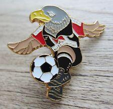 Eintracht Frankfurt Pin / Pins:  Maskottchen Adler  - ca. 20 Jahre alt!