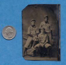 "Tintype of Minor League Baseball Player-  Patrick ""Paddy"" Lynch (1889-1898)"