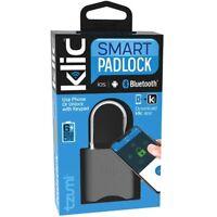 Tzumi Klic Smart Padlock Lock Bluetooth Keyless USB Apple Android Rechargeable W