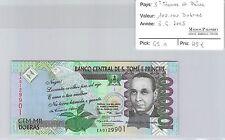 BILLET ST THOMAS ET PRINCE - 100.000 DOBRAS - 3.6.2005