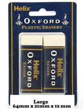 More details for helix oxford large erasers sleeve rubber pencil school pvc latex phthalate free