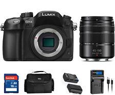 MINT Panasonic LUMIX GH4 4K Mirrorless Digital Camera with 45-150mm Zoom Lens