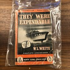 They Were Expendable WL White PB FIRST PENGUIN EDITION INFANTRY JOURNAL