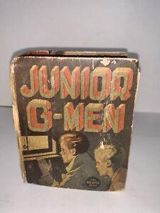 Vintage 1937 BIG LITTLE BOOK Junior G-Men by Morrell Massey