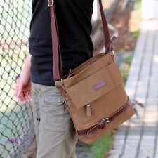 Men's Canvas Crossbody Hiking Military Messenger Shoulder Sling Bag Satchel HOT