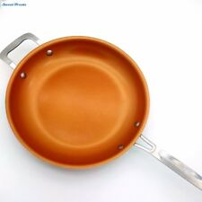 Non-stick Copper Frying Pan Ceramic Fry Induction Cooking Frypan Oven Safe