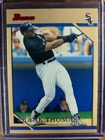 Frank Thomas Baseball Card #54 Bowman Chicago White Sox RED FOIL NM-MT MLB HOF