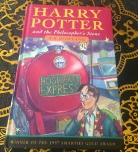 Harry Potter Philosopher Stone 1st edition 1997JoanneRowling RARE BOOK!!!