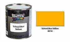 5 Star Xtreme Urethane Auto Paint Kit - School Bus Yellow - 8016