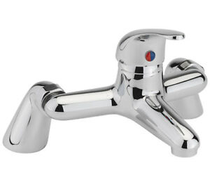 Sagittarius Prestige Pillar Bath Filler Chrome