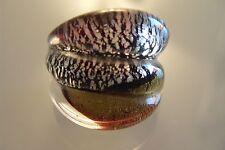 Ring aus original Muranoglas Schmuck Murano Glas UNIKAT Handarbeit bunt Gr. 18,5
