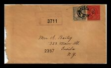 DR JIM STAMPS US REGISTERED WATERTOWN NEW YORK COVER BACKSTAMPS
