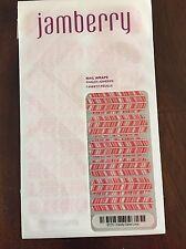Jamberry Nail Wraps, Candy Cane Lane, Full Sheet