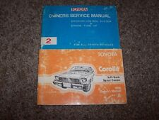 1976 Toyota Corolla Lift Back Sport Coupe Owner Owner's User Guide Manual RARE