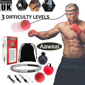Boxing Punching Fight Ball with Head Band Reflex Exercise Speed MMA Training