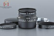 Excellent-!! Voigtlander Snapshot-Skopar 25mm f/4 MC Black
