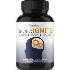Havasu Nutrition Neuro Ignite Clarity Focus Memory Supplement - 30 Capsules jl
