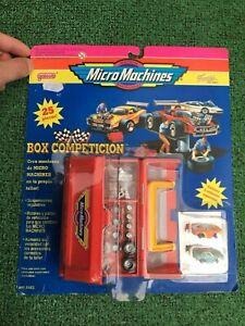 Masters lote BLISTER ESPAÑOL PRECINTADO BOX COMPETICION MICRO MACHINES.DIFICIL