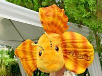 "Vintage Wildlife Artists Atlantis Tropical Fish 12"" Plush Stuffed Animal Toy"