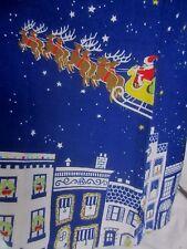 Nick & Nora Christmas Santa Holiday Sleep Shirt Pajama Top  - Women's S - CC234