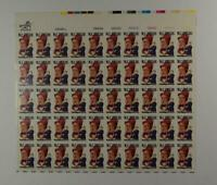 US SCOTT 1803 PANE OF 50 WC FIELDS STAMPS 15 CENT FACE MNH