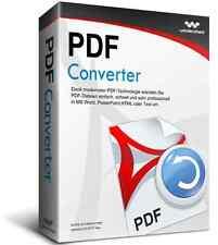 Wondershare PDF Converter  lifetime Vollversion ESD Download !