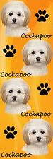 E&S Pets 3-D Cockapoo Dog Bookmark Bm-123