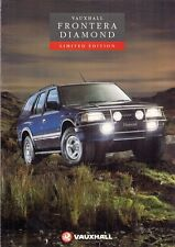 Vauxhall Frontera Diamond Estate Limited Edition 1993 UK Market Sales Brochure
