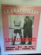 """Le Crapouillot Numéro 23 de 1972 """"Les Garçonnes (Suffragettes,MLF,Lesbiennes..."""