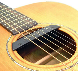 Acoustic Guitar Magnetic sound hole pickup for 6 or 12 string by Artec