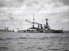 Vintage photo naval allemand navire de guerre tejo river portugal poster art print BB12363B