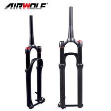 mountain bike suspension fork 29er aluminum air shock tapered thru axle mtb fork