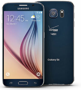 Samsung Galaxy S6 G920P 32GB Black Sprint Smartphone