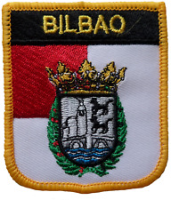 Bilbao Spain Shield Embroidered Patch