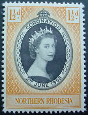 NORTHERN RHODESIA 1953: CORONATION OF QUEEN ELIZABETH II;  MNH STAMP
