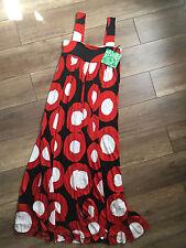 Marimekko For H&M Sleeveless Maxi Dress, Multi-colored, Size 4