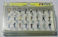 More details for 24 assorted painted people / passengers n gauge by noch xl 37104 boxed-