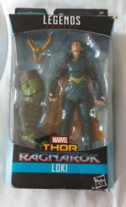 Marvel Legends MCU Loki. Thor Ragnarok. 6inch Action Figure in box with hulk par