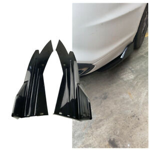 35CM Universal Car Lower Body Rear Lip Bumper Side Skirt ABS Diffuser Spoiler