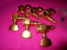 SPERZEL SATIN GOLD LOCKING GUITAR TUNERS