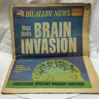 Vintage 1977 Newspaper Bilalian News Celebrities