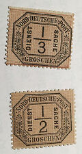 German Northern District Stamps Lot Of 2 1869