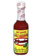 EL yucateco Salsa Picante de Chile HABANERO SAUCE 120 ML (Rosso)
