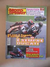 MOTOSPRINT n°24 1999  Test MALAGUTI MADISON 250  [MS7]